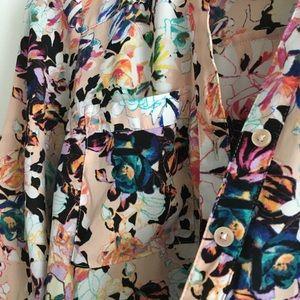 Express Tops - Express The Portofino Shirt Button Down Shirt Top